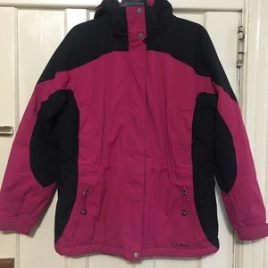 LL Bean Women's Primaloft Hooded Jacket